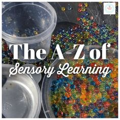 The ultimate A-Z list for teachers of sensory learning activities to use with your child or classroom. Taking learning beyond play. Sensory Toys, Sensory Activities, Classroom Activities, Learning Activities, Teaching Resources, Proprioceptive Activities, Experiential Learning, Exercise For Kids, Healthy Meals For Kids