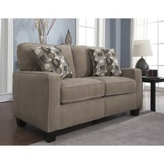 Shop for Serta RTA San Paolo Collection 61-inch Platinum Fabric Loveseat Sofa. Get free shipping at Overstock.com - Your Online Furniture Outlet Store! Get 5% in rewards with Club O!