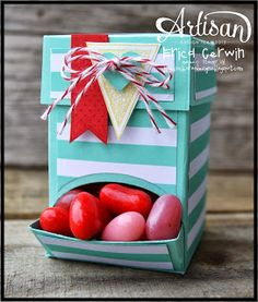 Valentine Mini Candy Dispenser by Erica Cerwin