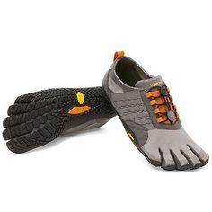 VIBRAM FIVEFINGERS Men's Trek Ascent Barefoot Shoes Grey