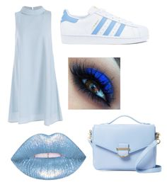 """""""Blue Beautiful look"""" by myclothsoffashon on Polyvore featuring adidas and Cynthia Rowley"""