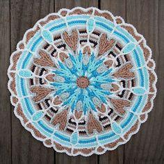 Free Crochet Mandala Patterns | ... crochet | Crochet Overlay Mandala No. 4 Pattern PDF. ... | crochet