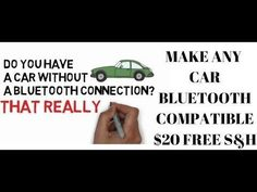 Awesome awesome cool BLUETOOTH CAR HACK! Make ANY Car Bluetooth Compatible! Stream Music...  Cars World Check more at http://autoboard.pro/2017/2017/03/28/awesome-cool-bluetooth-car-hack-make-any-car-bluetooth-compatible-stream-music-cars-world/