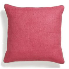Villa Accent Pillows in Pink and Teal