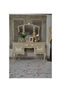 Vintage French Dressing Table artwork