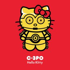 Star Wars and Hello Kitty Hello Kitty Backgrounds, Hello Kitty Wallpaper, Hello Kitty Characters, Sanrio Characters, Hello Kitty Art, Hello Kitty Pictures, Hello Kitty Collection, Kawaii, Cultura Pop