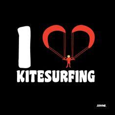 I Love kitesurfing | http://arnone-project.com