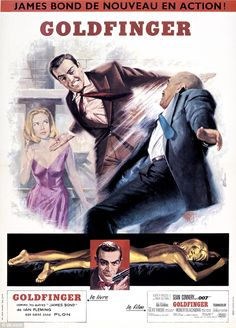 Licence to kill: The previous year, Connery had starred in his third Bond film, Goldfinger - one of the best loved films in the series