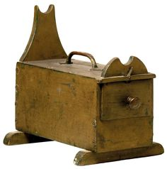 Vintage Gunning Box:  used to hold shotgun shells and other supplies, and serve as a cradle for the shotgun.