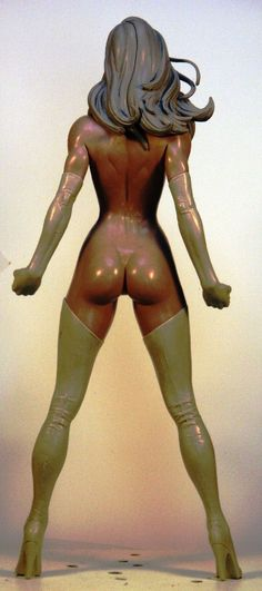 Ms Marvel 2 by TKMillerSculpt on deviantART
