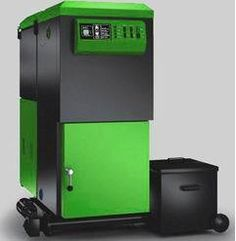 Biomass heating system.