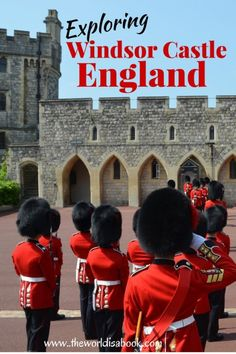 London with Kids: Exploring Windsor Castle and the Changing of the Guards. See the Queen's residence and why this makes for a wonderful day trip.