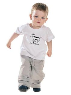 Teach your toddler the #alphabet with the Z is for #Zebra T-Shirt. $15