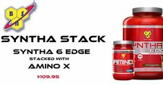 Tomorrow at our Geelong Grand Opening!  Stack the delicious new @bsnsupplements Syntha-6 Edge with Amino-X for $109.95! 10am-3pm @142 Ryrie Street Geelong!  #spartansuppz #spartansuppzgeelong #Geelong  #ballarat #bodybuilding #powerlifting #fitness #igfit #shred #gym #weights #instafit #insta #gymlife #iifym #diet #fitfreaks #swole #motivation #entrepreneur #inspiration #doyoueven #dye #fitfam