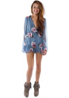 (FLOWER POWER) REVERSE SLEEVED FLORAL PLAYSUIT #HAKKAFASHION SHOP THIS PLAYSUIT HERE- http://www.hakkafashion.com/jumpsuits-playsuits/277-reverse-sleeved-floral-playsuit-.html?search_query=FLORAL&results=48
