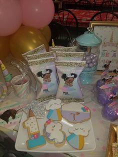 Baby Unicorn, Unicorn Party, Unicorn Birthday, Baby Girl 1st Birthday, First Birthday Parties, Birthday Ideas, Shower Baby, Baby Shower Cakes, Unicorn Princess