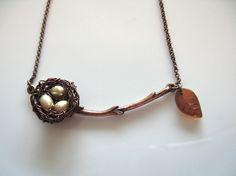 Twig Branch Necklace,
