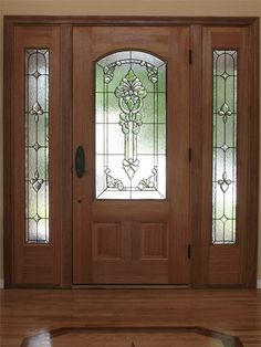 Contemporary Stained Glass Entryway Stained Glass