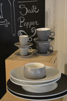 Showroom, Servies, Krijtbord #servies | Orca Cool