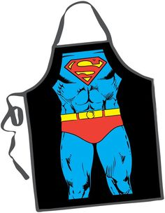 Superman Apron. Great Father's Day gift idea. #fathersday ~ Repinned by Federal Financial Group LLC #FederalFinancialGroupLLC www.facebook.com/... ffg2.com