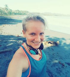 What a great #run this morning...even when I felt a bit weak after my fasting day  #instarun #beachlife #fitnessblogger #austrianblogger #instafit #puravida #CostaRica