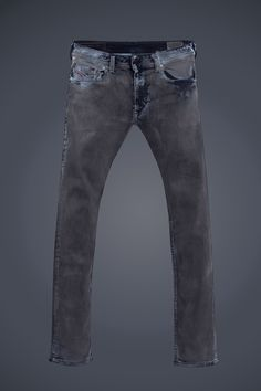 Diesel #jeans: Thavar #blackandgray #mutation