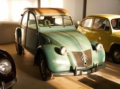 "They're not pretty, but they lend a ""certian something"" to ones life...Citroën 2 CV AZ 1957"