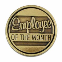 Corporate - Employee of the Month Pin . $3.95