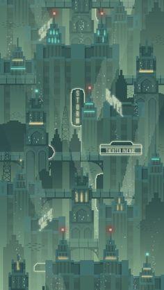 underwater city concept art - Google Search