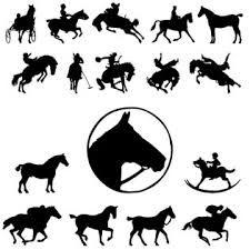 Resultado de imagen para caballos silueta