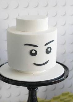 Lego Birthday Party! Read More: http://www.stylemepretty.com/living/2014/10/23/modern-lego-birthday-party/