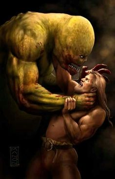 relationship between cain and grendel
