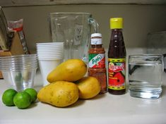 You searched for Mangonada - Spanglish Mama Mexican Drinks, Mexican Candy, Mexican Food Recipes, Tamarindo, How To Make Mangonada, Fresco, Mangonada Recipe, Hamburger Side Dishes, Chile