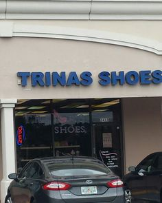 Cool Trina has her own shoe store! Lol :-)  XO #shoes #TrinasShoes #TrinaLove