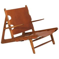 """Teak """"Hunting Chair"""" by Borge Mogensen 
