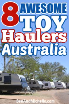 All the toy hauler caravans I could find in Australia, with access to a multi-purpose garage in the rear. Check out these toy hauler caravans Australia. Small Caravans, Vintage Caravans, Off Road Camper, Quad Bike, Big Guns, Toy Hauler, Camper Trailers, Plan Your Trip, Quad