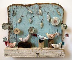 Chattering Birds of Birdsall Brow - Shirley Vauvelle