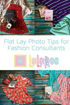Creative Ways to Photograph LuLaRoe for Consultants - flat lay photo tips for lularoe fashion consultants - Flat Lay Photography, Clothing Photography, Selling Lularoe, Flat Lay Inspiration, Lularoe Consultant, Flat Lay Photos, Flatlay Styling, Lula Roe Outfits, Fashion Tips For Women