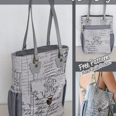 The Bia Bag – Free PDF Sewing Pattern by Maria Wallin + Flat Felled Seam Tutorial