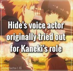 Anime facts tokyo ghoul