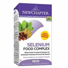 New Chapter Selenium Food Complex: New Chapter provide you an organic probiotic alternative to isolated or USP vitamins minerals. All vitamins minerals are cultured in organic soy using nature's most prized studied probiotics.