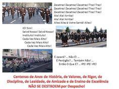 """Os """"gritos"""" dos 3 EME (Estabelecimentos Militares de Ensino)"""