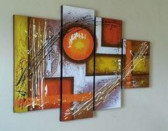 cuadros al oleo abstractos modernos