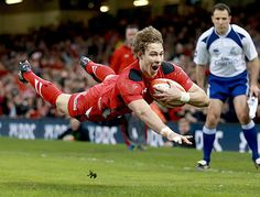 Liam Williams' first try for Wales - Wales v Scotland, Six Nations 2014: live - Telegraph