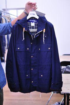 blue coat, junya watanabe comme des garçons man