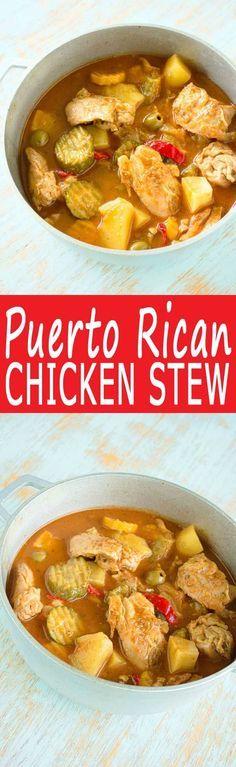 Sofrito Chicken Stew Recipe — Dishmaps
