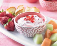 This Strawberry Agave Dip will be a delicious addition to your NYE party! Sponsored by Daisy Sour Cream Strawberry Agave Dip Key Lime Desserts, Daisy Sour Cream, Sour Cream Dip, Ice Cream, Dip Recipes, Snack Recipes, Dessert Recipes, Snacks, Popsicle Recipes