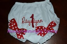 would be ADORABLE under a tutu!!