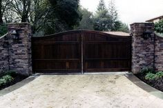 We are in need of a driveway gate!