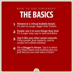 How to Use Pinterest: The Basics Social Media Tips, Social Media Marketing, Library Events, Family Budget, Pinterest For Business, Ways To Save, Interesting Stuff, Being Used, Good To Know